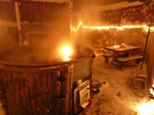Sauna ja palju Kunkussa