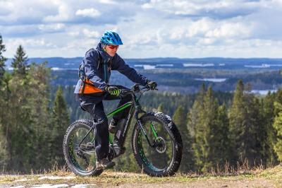 Electric Assist Fat Bike Rental 3 hours/Kuopio