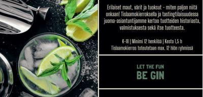 Gin-tasting - Tahkon tislaamo/HopHaus Tahko