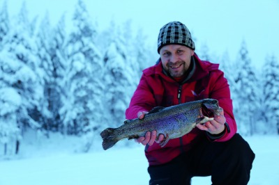 Salmon Ice Fishing