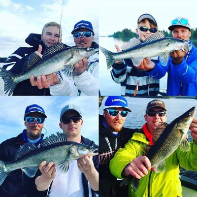 8 hours guided fishing at lake Syväri