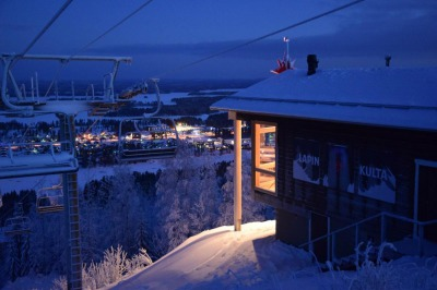 Legendary Panorama Bar & Café on the top of Tahko